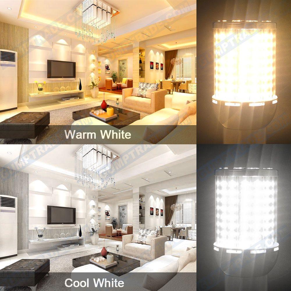 E27 65W LED Mais Leuchtmittel Lampe AC 85-265V 6500LM Warmweiß//Kaltweiß